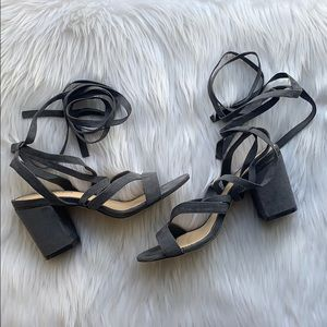 Liliana Lace Up Sandals